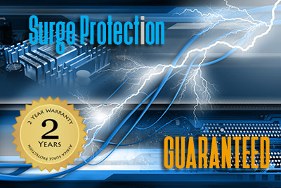 Surge Protection - Guaranteed - Standing behind our products
